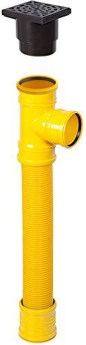 Sickerschacht mit Zufluss/Abfluss Ø 110 mm