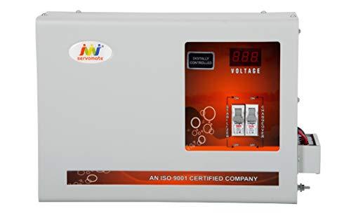 Servomate 5KVA Single Phase Copper Mainline Automatic Voltage stabilizer (90v-300v)