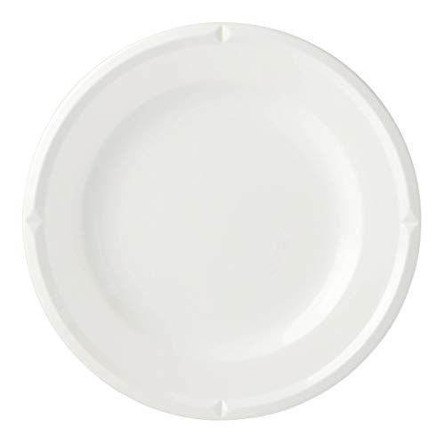 Kate Spade New York 888733 Tribeca Cream Dinner Plate, Stoneware