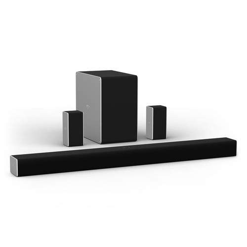 """VIZIO SB36512-F6 36"""" 5.1.2 Channel Home Theater Surround Sound Bar with Dolby Atmos Wireless Subwoofer,Bluetooth,Chromecast built-in,Works with Google Assistant,Wi-Fi, HDMI ARC,Digital Coaxial,Optical"""