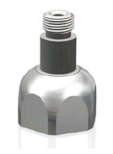 Adattatore per riduttore di pressione di Co2 da bombole monouso a ricaricabili