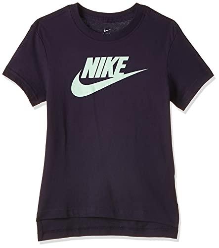 Nike NSW Tee DPTL Basic Futura - Camiseta para niña violeta 152 cm