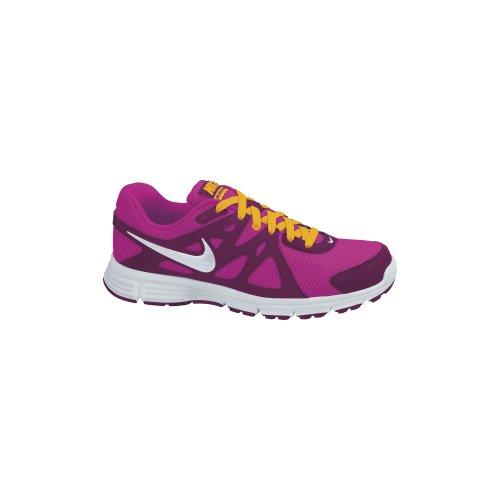 Nike - WMNS Revolution 2 MSL - 554901602 - Farbe: Dunkelrot-Rosa - Größe: 37.5 EU