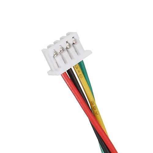 VIDOO 3pin/4pin/5pin/6pin Silikon SH1.25mm FPV Kabel für Racing Kamera Sender-4PIN