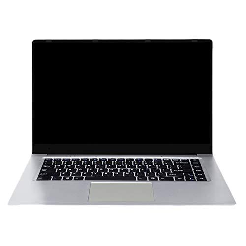 Nrpfell Laptop da Gioco SSD da 15,6 Pollici da 8 GB per Notebook Intel Core M-5Y71 1920X1080P Full HD Spina Americana e Spina Europea(128G)