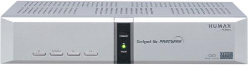 Humax PR-Fox C Digitaler Kabelreceiver (mit Premiere-Kartenleser)und Arena TV geeignet