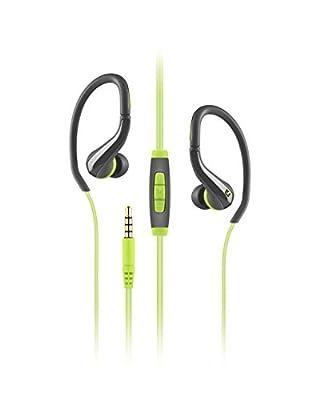 Sennheiser OCX 684i Ear Canal Sports Headphone - Black/Green
