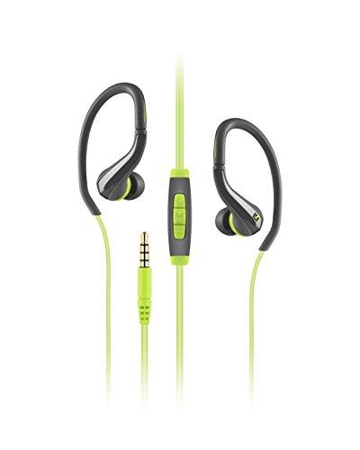 Sennheiser 506787 OCX 684i Sports wasserdichte Headset (mit Handgriff auf Ohr Mfi) grün