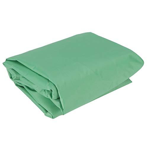 Cubierta para Piscina, Cubierta Protectora Cuadrada para Piscina, Cubierta Impermeable para Jardines, Arena, Patios(Green, 120 * 120 * 20cm)