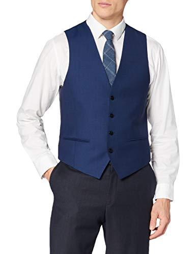 HUGO Mens Vin194 Down Vest, Turquoise/Aqua (444), 44