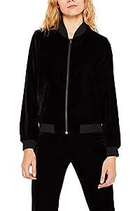 ESPRIT Damen 119EE1G010 Anzugjacke, 001/BLACK, 38 (Herstellergröße: M)