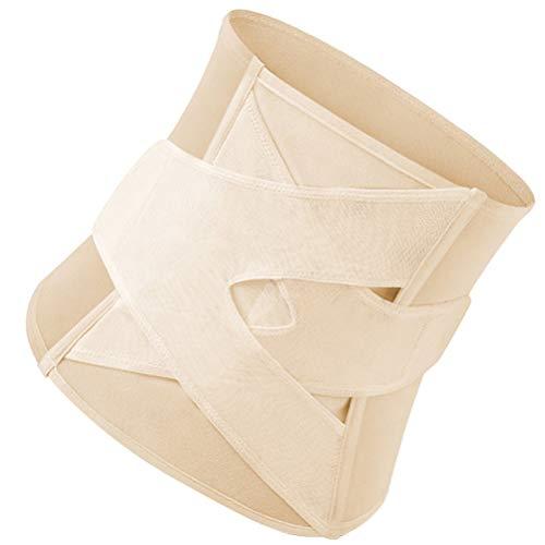 Cinto 3 em 1 para recuperação pós-parto de barriga para recuperação pós-parto para cinta de maternidade pós-parto para mulheres, modelador corporal de barriga bandida na cintura