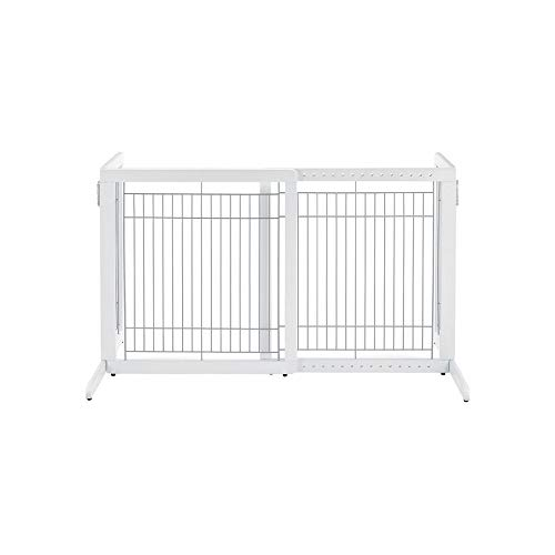 Richell High Freestanding Pet Gate, Standard,...