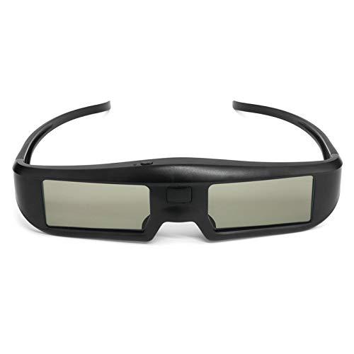 Docooler Gafas de Realidad Virtual 3D BT HD Obturador Activo Lente LCD