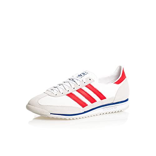 adidas SL 72, Zapatillas Deportivas Hombre, Grey One FTWR White Vivid Red, 41 1/3 EU