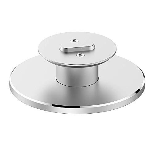 POHOVE Aleación de aluminio soporte de altavoz titular 360 grados girar para Amazon Echo Spot Bluetooth Display Smart Speaker