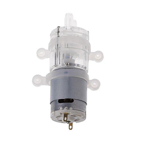 ATATMOUNT 385 6V-12V Hochtemperaturwiderstand 100 Grad Celsius Mini Micro Wasserpumpe
