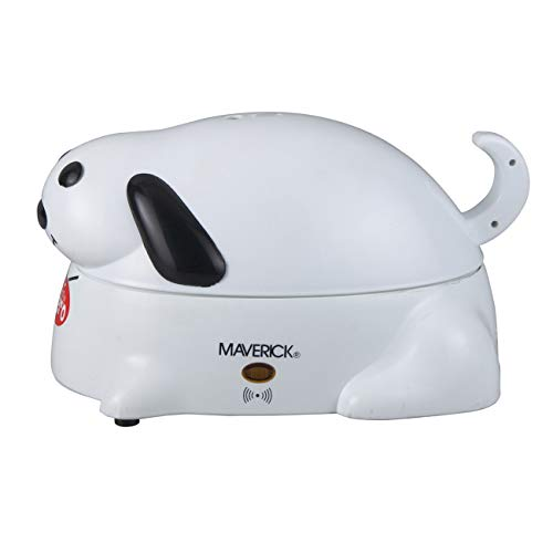 Maverick HC-01 Hero Electric Hot Dog Steamer Cooker, 6 Hot Dog Capacity, White