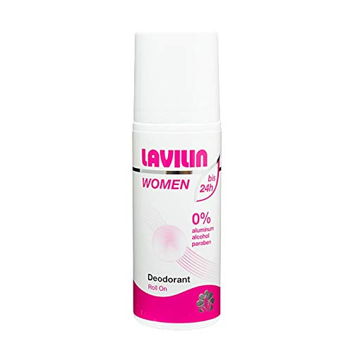 Lavilin Deodorant WOMEN; Lavilin Bio-Balance Deodorant; Roll-Deo; erzeugt einen Antranspirant-Schutzfilm; langhaftenden und wasserfesten Film