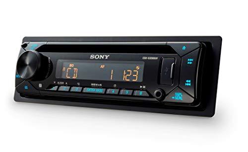 Sony CDXG3300UV Autoradio (Reproductor de CD, USB/AUX de entrada, 4x 55W, extra Bass)