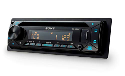 Sony-CDXG1300UEUR-Autoradio-CD-Player-USBAUX-Eingang-4X-55-W-Extra-Bass