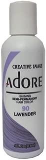 Adore Semi-Permanent Haircolor #090 Lavender 4 Ounce (118ml)
