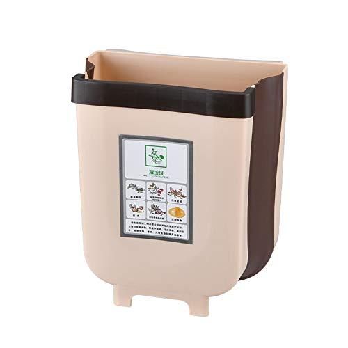 DishyKooker - Cubo de basura multifunción con puerta para armario de cocina