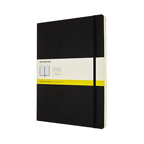 Moleskine Classic Notebook, Soft Cover, XXL (8.5