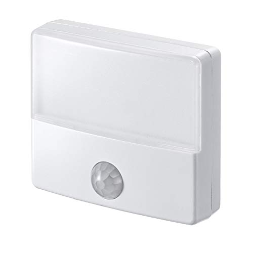 イーサプライ LEDセンサーライト 人感センサー AC電源 屋内用 薄型 小型 ナイトライト EZ8-LED026