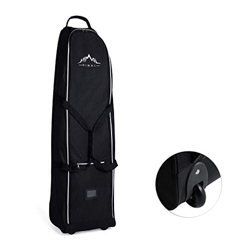 Himal Soft-Sided Golf Travel Bag - Heavy Duty 600D Polyester Oxford Wear-Resistant, Excellent Zipper...