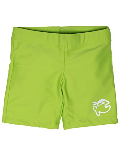 IQ-UV 300 Kinder Badehose Schutz Shorts, Grün (Neongrün), 116/122