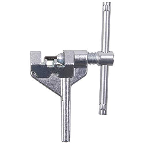 BIKE HAND Kettennietdrücker Kettennieter Kettendrücker Kettenwerkzeug aus Stahl, robust