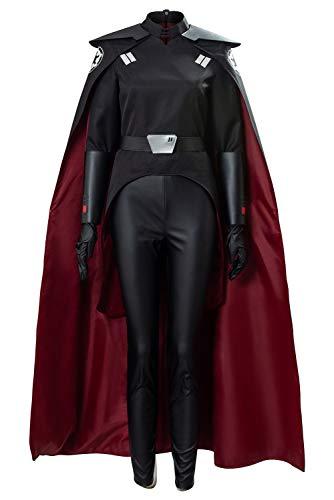 Linen Family The Black Series Zweite Schwester Fallen Order Cosplay Kostüm Damen-Zweite Schwester Inquisitorin Verkleidung Kostüm