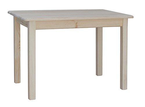 koma Esstisch Küchentisch 120 x 70cm Speisetisch Kiefer Tisch massiv Restaurant Hersteller NEU (UNBEHANDELT)
