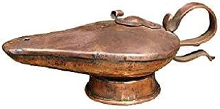 Lampada lanterna in rame aladino ad olio lavorata a mano