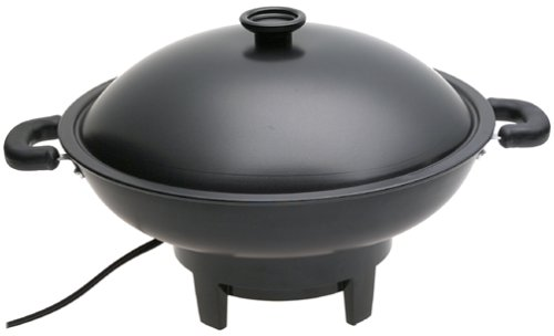 Aroma Housewares  AEW-305 Electric Wok, Black