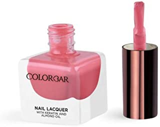 Colorbar Nail Lacquer With Keratin And Almond Oil -470-Cake-Walk