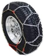 Diamond Pattern Tire Chain for Trucks and SUV's: image