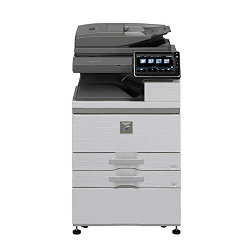Review Of Sharp MX-M754N Tabloid-sized High-Speed Mono Laser Multifunction Copier - 75ppm, Copy, Pri...