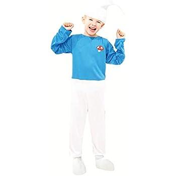 Disfraz Duende Azul para niño (4-6 años): Amazon.es: Juguetes y juegos