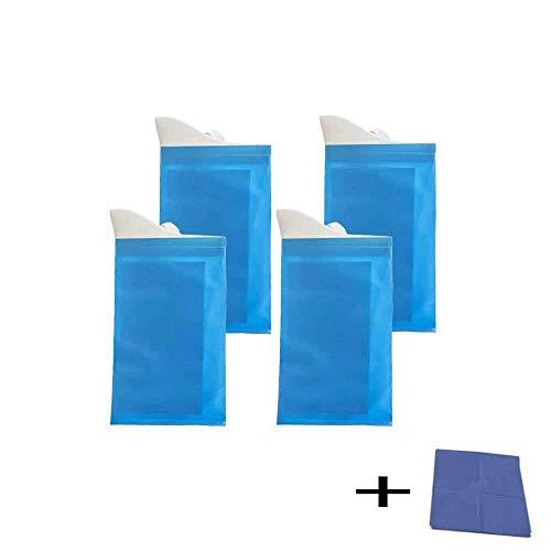 FJROnline Portable Urine, 4 pcs d'urgence jetables Sacs à Urine vomi Sac pour l'extérieur dans la Voiture du Patient et Femme Enceinte Unisexe
