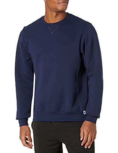 Russell Athletic Men's Dri-Power Fleece Sweatshirt, New Navy, Large