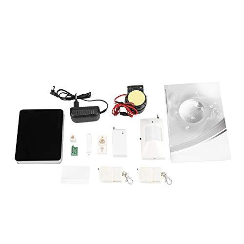 Sistema de alarma inalámbrico para el hogar inteligente GSM Kit de sensor de detector de seguridad antirrobo para la oficina de la casa, sistema de alarma para el hogar Seguridad para el hogar GSM ina