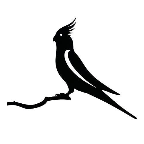 MItrilifi Accessories Kolibri-Metall-Vogel-Kunst-Dekoration für deinen Hof oder Baum Metallkunst und Gartengarten Ostern Dekoration Jardineria Decoracion (Color : D)