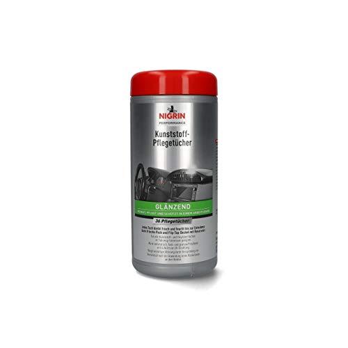 NIGRIN 74645 Kunststoff-Pflege-Tuch, glänzend, 27 x 35 cm