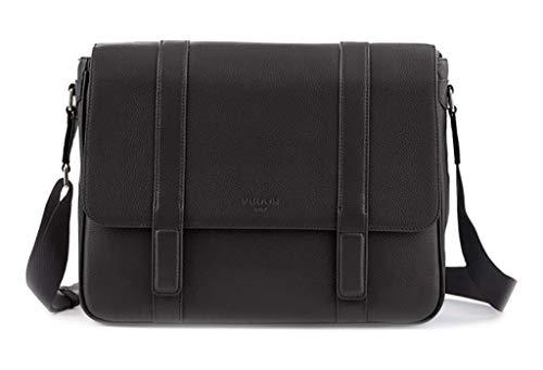 Fedon 1919 Ohanian Leather Messenger Bag Mb1910028 Black
