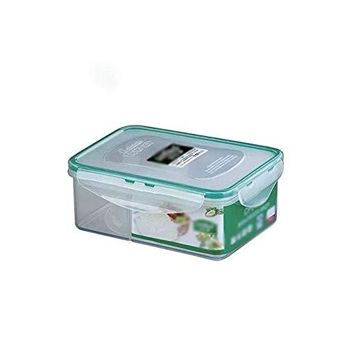 Fiambrera Sellada a prueba de fugas de gran capacidad de la caja de almuerzo, Salud ambiental Estudiante Fiambrera, 900ml de plástico for frutas y verduras/Nevera Caja de almacenamiento/Caja de al