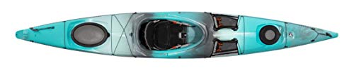 Wilderness Systems Tsunami 140   Sit Inside Touring Kayak   Multiple Storage Options - Phase 3 Air Pro Seating   14'   Breeze Blue