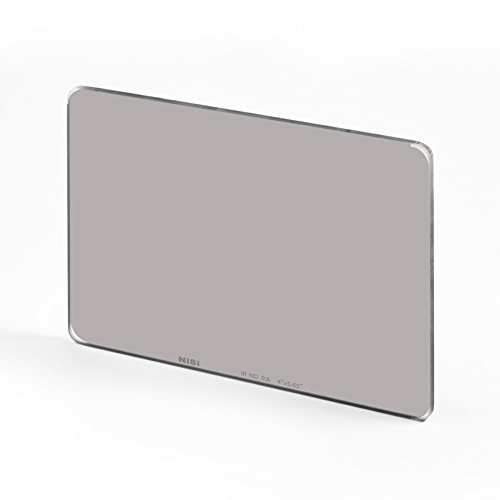 NiSi Nano IR Infrared ND - Cinematic Filter (IR ND 0.6-2 Stops, 4x5.65, Photo Filter Thread Size : 144 mm)