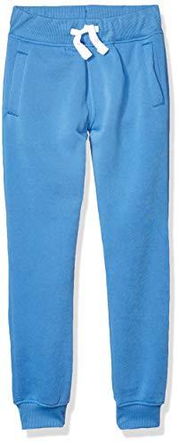 Southpole Boys' Big Active Basic Jogger Fleece Pants, Sky Blue, Medium